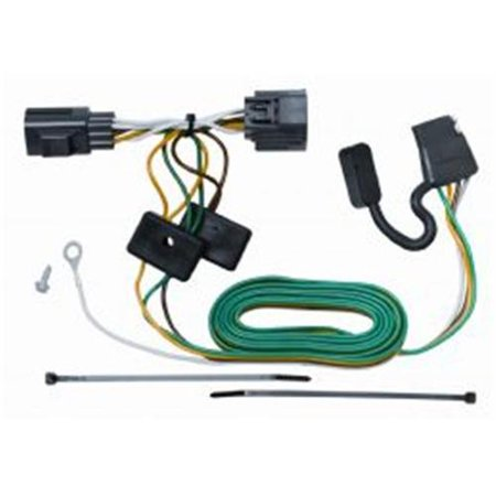 TOW READY 118416 Trailer Wiring Connector Kit 20072015 Jeep – Jeep Liberty Trailer Wiring Adapter