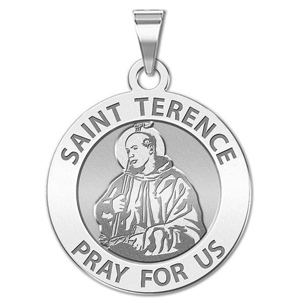 PicturesOnGold Saint Terence Religious Medal  - 3/4 Inch ...