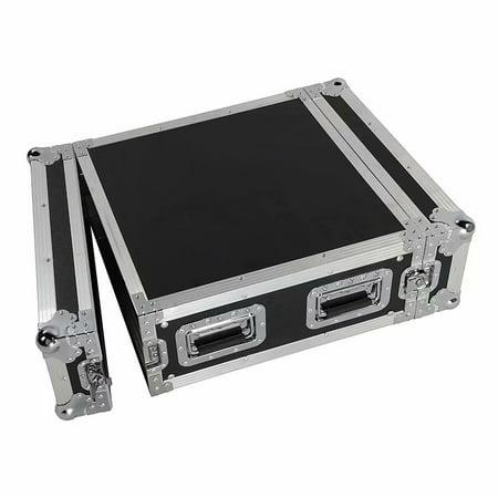 19 Mixer Dj Workstation (4U Space Rack Case w/ Double Door for 19