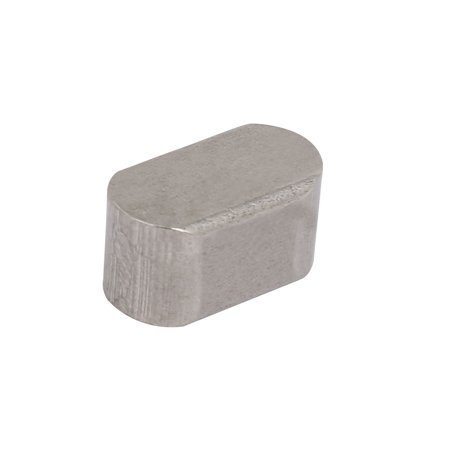 14mmx8mmx7mm 304 Stainless Steel Key Stock Keystock Silver Tone 4pcs - image 2 de 3
