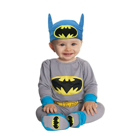 Batman Bodysuit Costume (Infant Batman Onesie Costume Rubies)