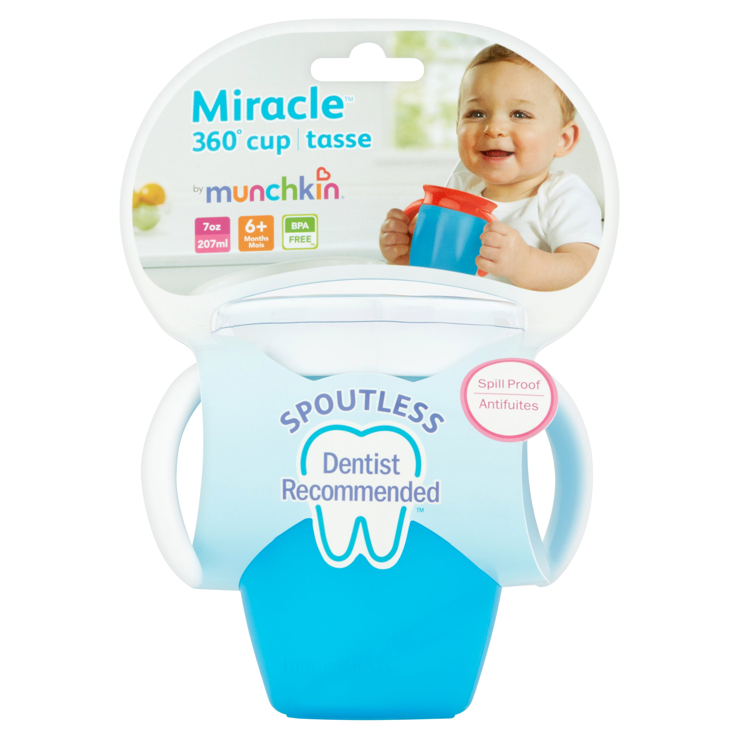 Munchkin Miracle 360 Spoutless Trainer Sippy Cup