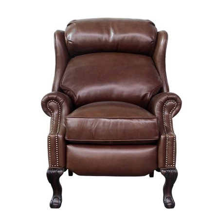 Xl Recliner (Canora Grey Verne Leather Manual Recliner)