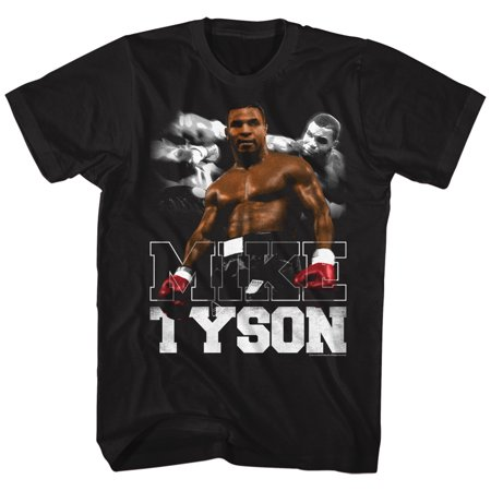 Iron Mike Tyson Bam Fighter Boxer Champion American Classics Adult T Shirt