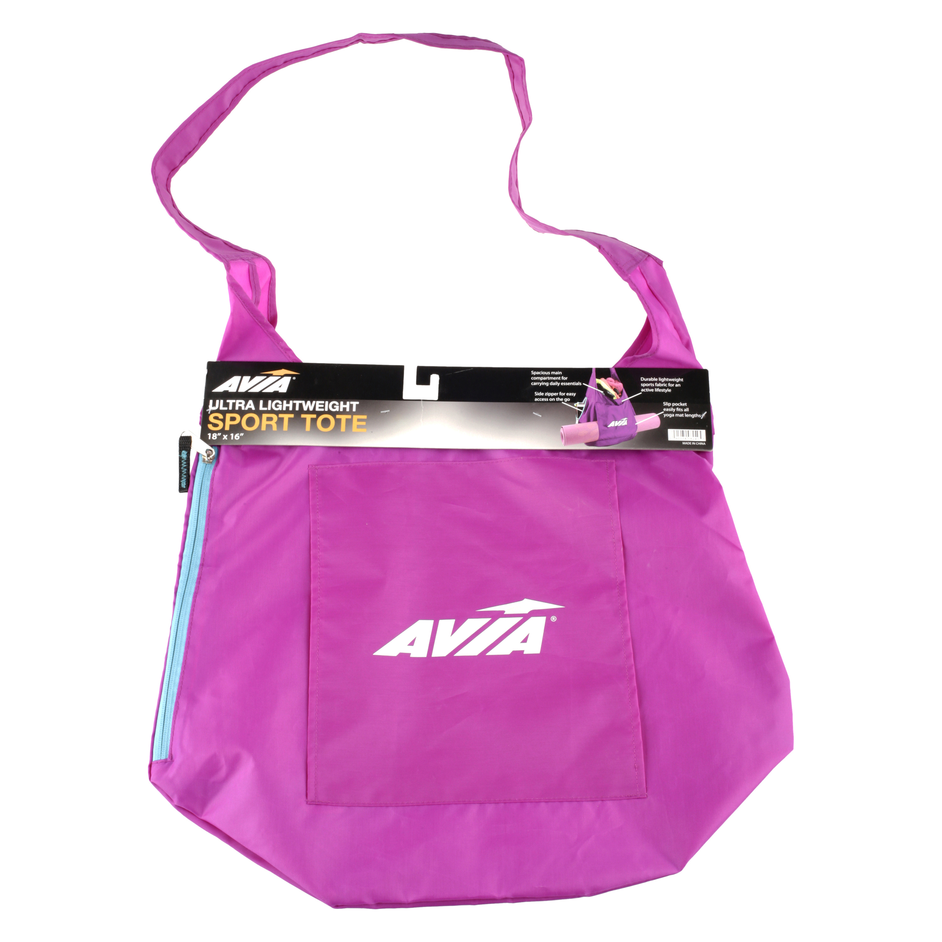 Avia Sport Tote with Yoga Mat Pocket