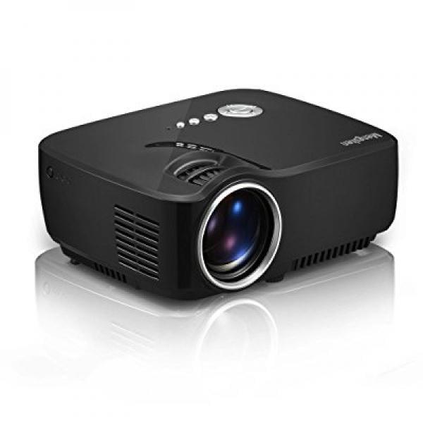 Mengshen LED Projector 1200 lumens 800480 Multimedia Beam...