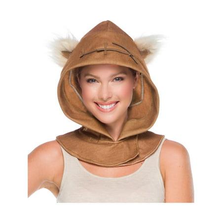 Adult Ewok Hood - Womens Ewok Costume