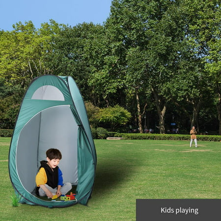 Zimtown Pop Up Dressing Tent Portable Outdoor Privacy Shelter Shower Toilet Fitting Changing Room for