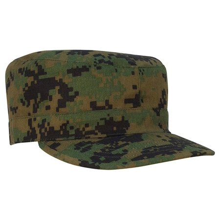 Rothco Camo Fatigue Caps - Woodland Digital Camo, Large