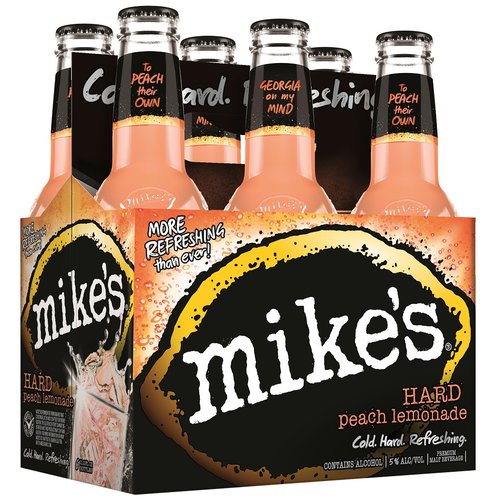 Mike's Hard Peach Lemonade, 6 pack, 16 fl oz