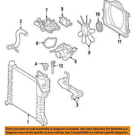 Dodge Chrysler Oem Sprinter 2500 Engine Cooling Radiator Fan Clutch