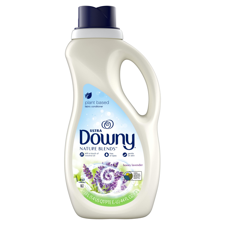 Downy Nature Blends Liquid Fabric Conditioner (Fabric Softener), Honey Lavender, 52 Loads 44 fl oz