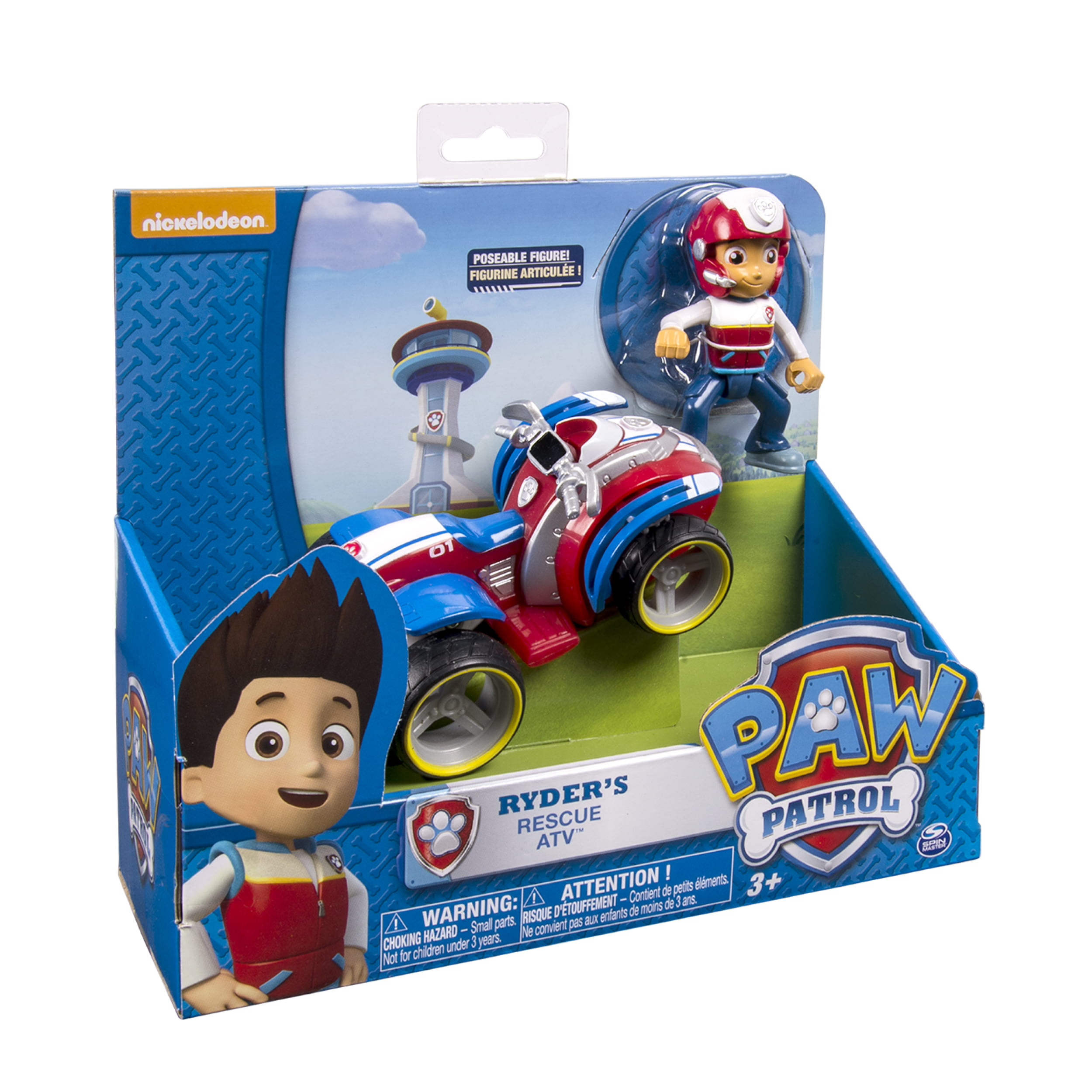 Paw Patrol Ryder S Rescue Atv Vechicle And Figure Walmart Com