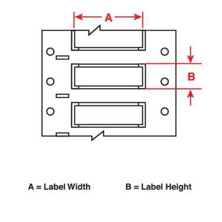 1 Wt Wire Sleeve - BRADY PSHT-094-1-WT Wire Sleeve