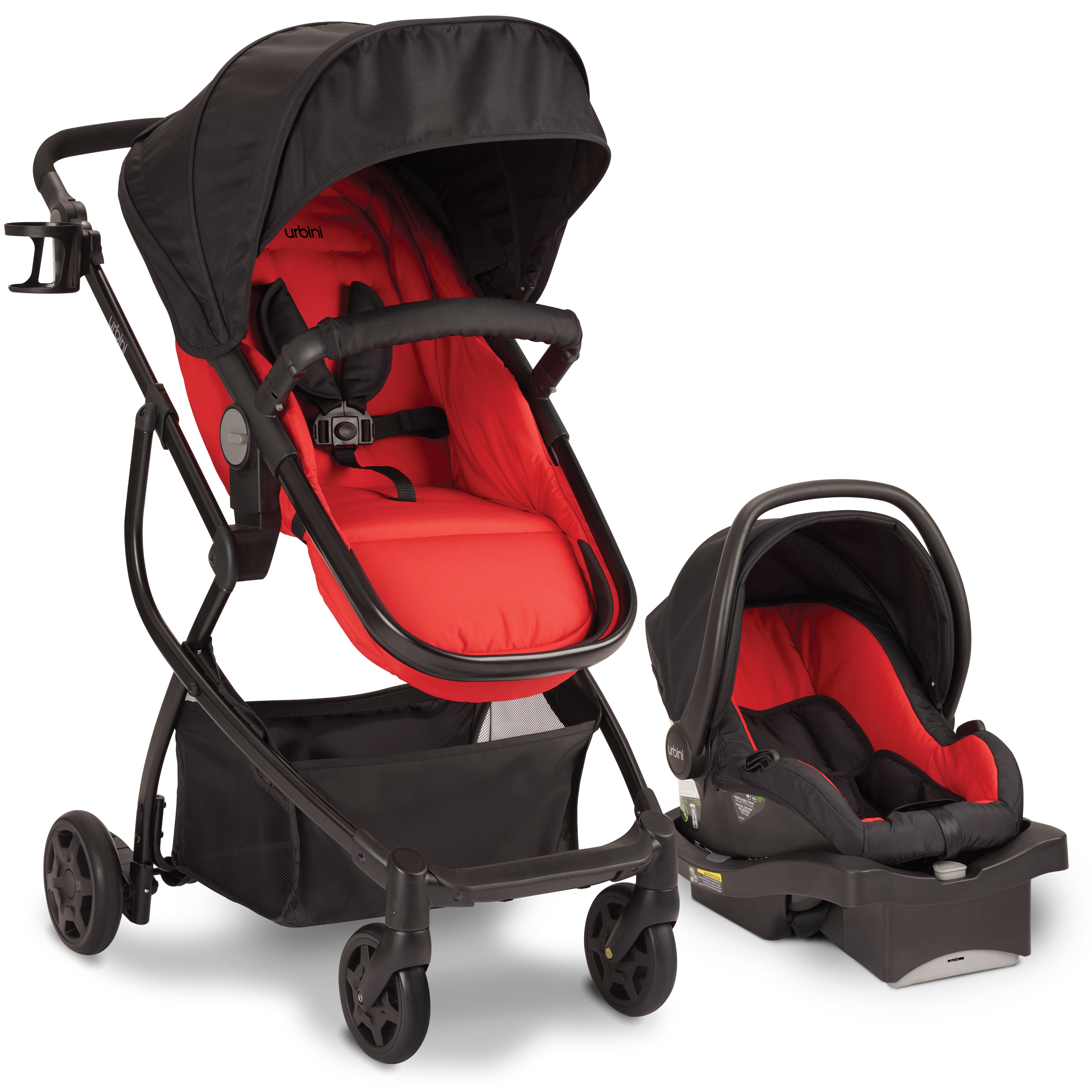 Urbini Omni Plus Travel System, Classic Red by Goodbaby Child Products Pingxiang Co., Ltd