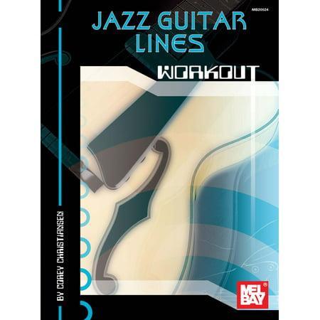 Jazz Guitar Lines Workout - eBook