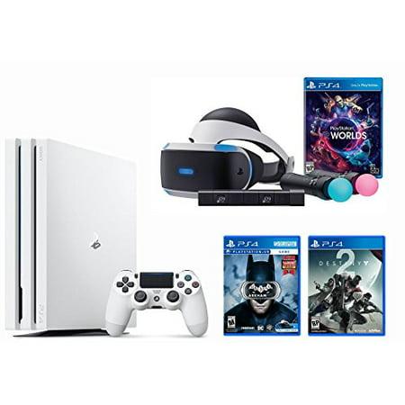 Playstation Vr Launch Bundle 3 Items Vr Launch Bundle Playstation 4 Pro 1Tb Destiny 2 Bundle Vr Game Disc Arkham Vr