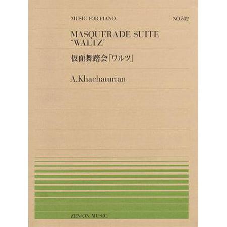 Waltz from Masquerade Suite : Piano Solo - Masquerade Suits