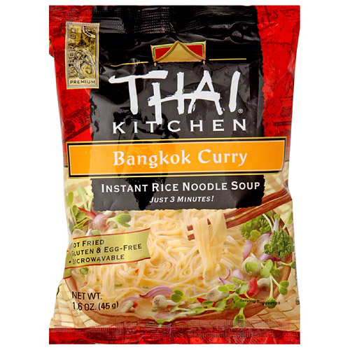Thai Kitchen Bangkok Curry Instant Rice Noodle Soup, 1.6 oz, (Pack of 12)