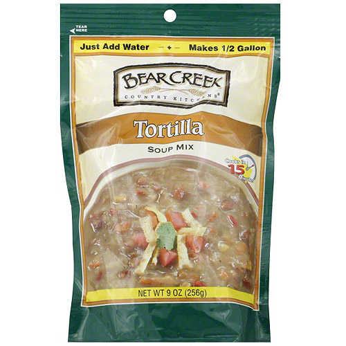 Bear Creek Tortilla Soup Mix, 9 oz (Pack of 6)