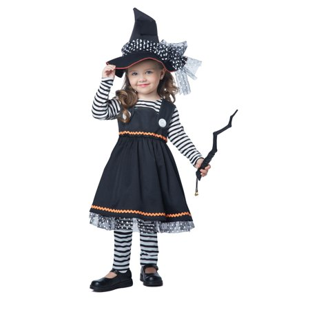 Toddler Crafty Little Witch Costume by California Costumes 172 00172 - Toddler Witch Costume