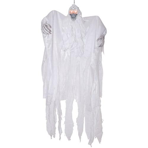 """36"""" x 32"""" x 4"""" Hanging White Reaper Halloween Prop"""