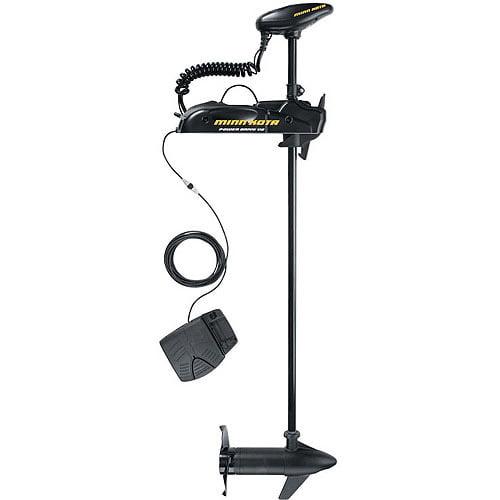 """Minn Kota 50 PowerDrive V2 50-lb Thrust Freshwater Bow Mount Trolling Motor, 48"""" Shaft"""