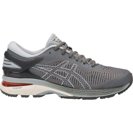 asics womens running shoes : Asics 1012A026-020: Womens Gel-Kayano 25 Carbon/Mid Grey Running Sneakers (5.5 B(M) US Women)