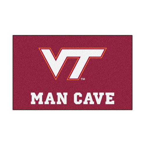 Virginia Tech Man Cave UltiMat 5'x8' Rug
