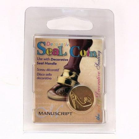 Manuscript Pen 727SHO Decorative Seal Coin, 0.75-Inch, Shoe Multi-Colored - Decorative Pens