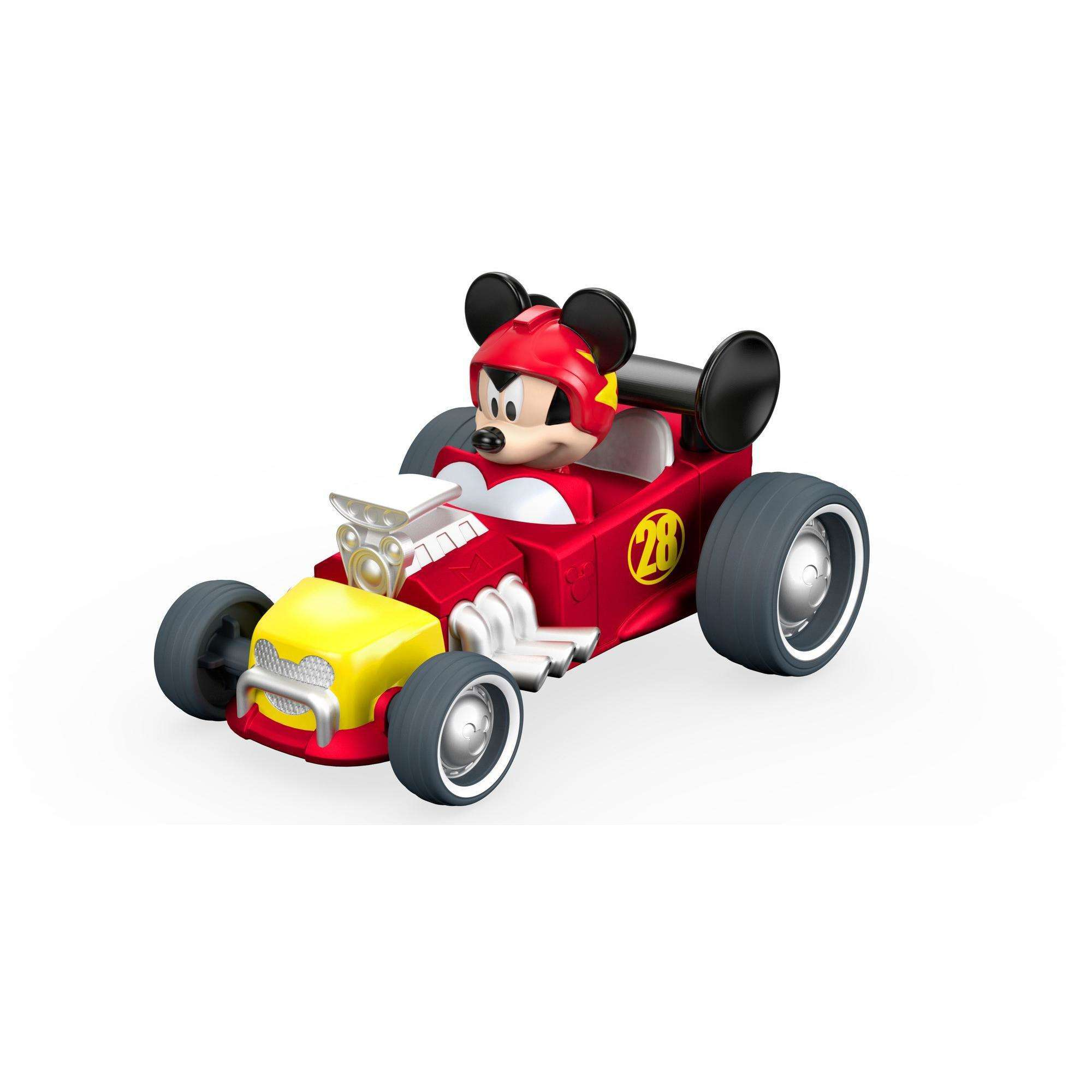 Disney Mickey Mouse Clubhouse Pull 'N Go Hot Rod by Mattel