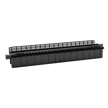 Kato N Scale UniTrack Train Track Deck Girder Bridge 4-31/32in Long Black (Black Girder Bridge)