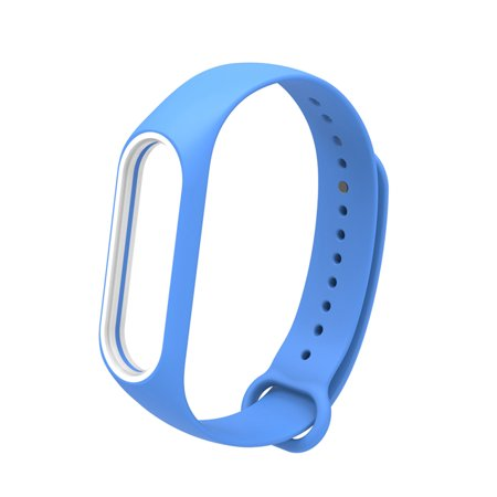 Replacement Wrist Strap for Xiao-Mi Band 3/4 General TPU Wristband (With reinforcement-ring) Green - image 1 de 5