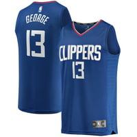 Paul George LA Clippers Fanatics Branded 2019/20 Fast Break Replica Jersey Blue - Icon Edition