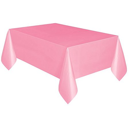Lot of 4 Unique Pink Plastic Tablecover 54