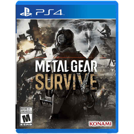 Metal Gear Survive, Konami, PlayStation 4, 083717203285