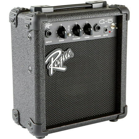 Rogue G5 5W Battery-Powered Guitar Combo Amp (Best Combo Tube Amp)