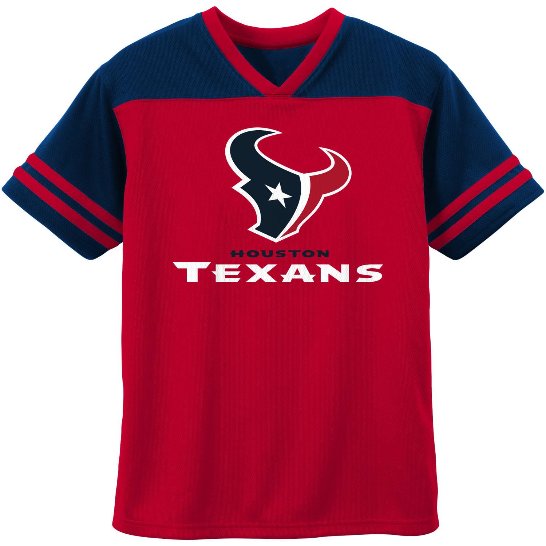 NFL Houston Texans Short Sleeve Fashion Top