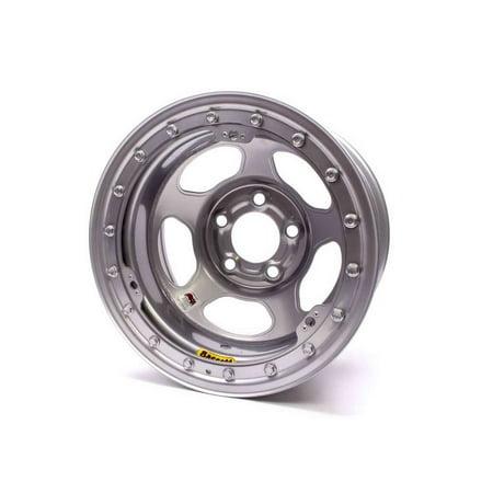 Bassett Inertia Advantage 15X10  5X5 00 Silver Wheel P N 50L55s