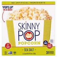 Skinny Pop Popcorn Bowl Sslt Micro 3,8.4 Oz (Pack Of 12)