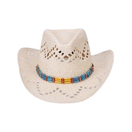 3fc7a5ff4c7c5 Men s   Women s Western Style Cowboy   Cowgirl Straw Hat