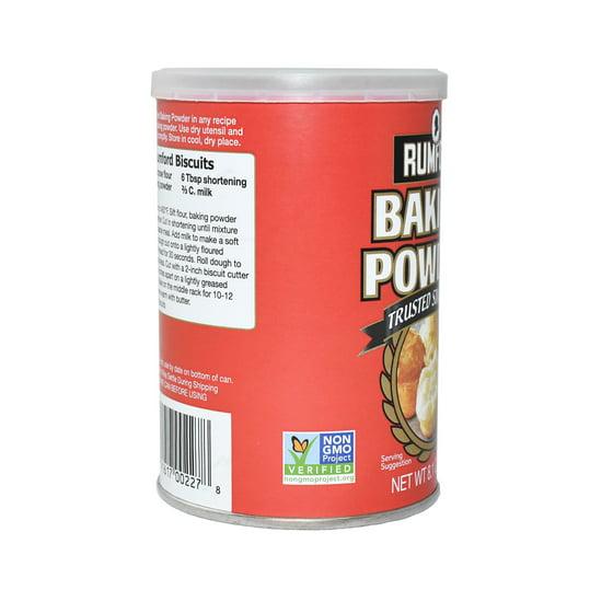 Rumford Double-Acting Non-GMO Baking Powder, 8 1 oz