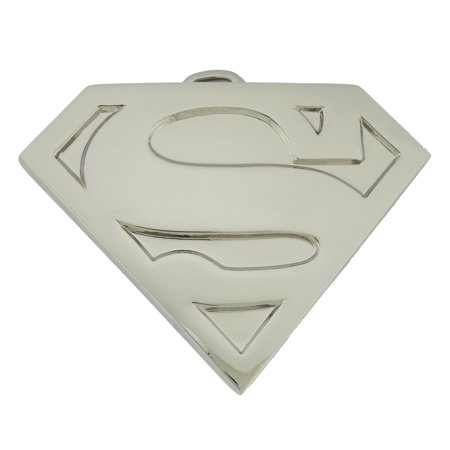 Superman Belt Buckle US American Superhero Original Costume Silver Metal Shield](Original Scorpion Costume)