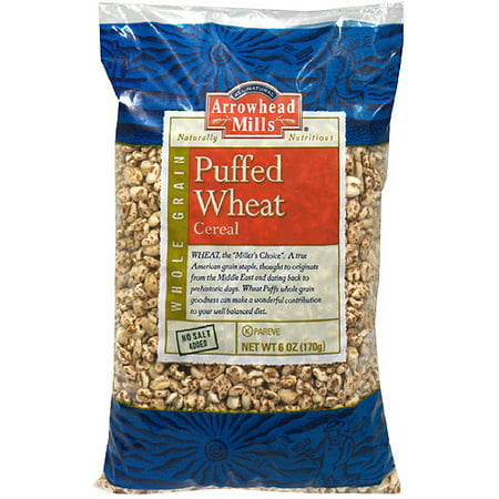 Arrowhead Mills Puffed Wheat Cereal, 6 oz (Pack of 12) Arrowhead Mills Hot Cereal