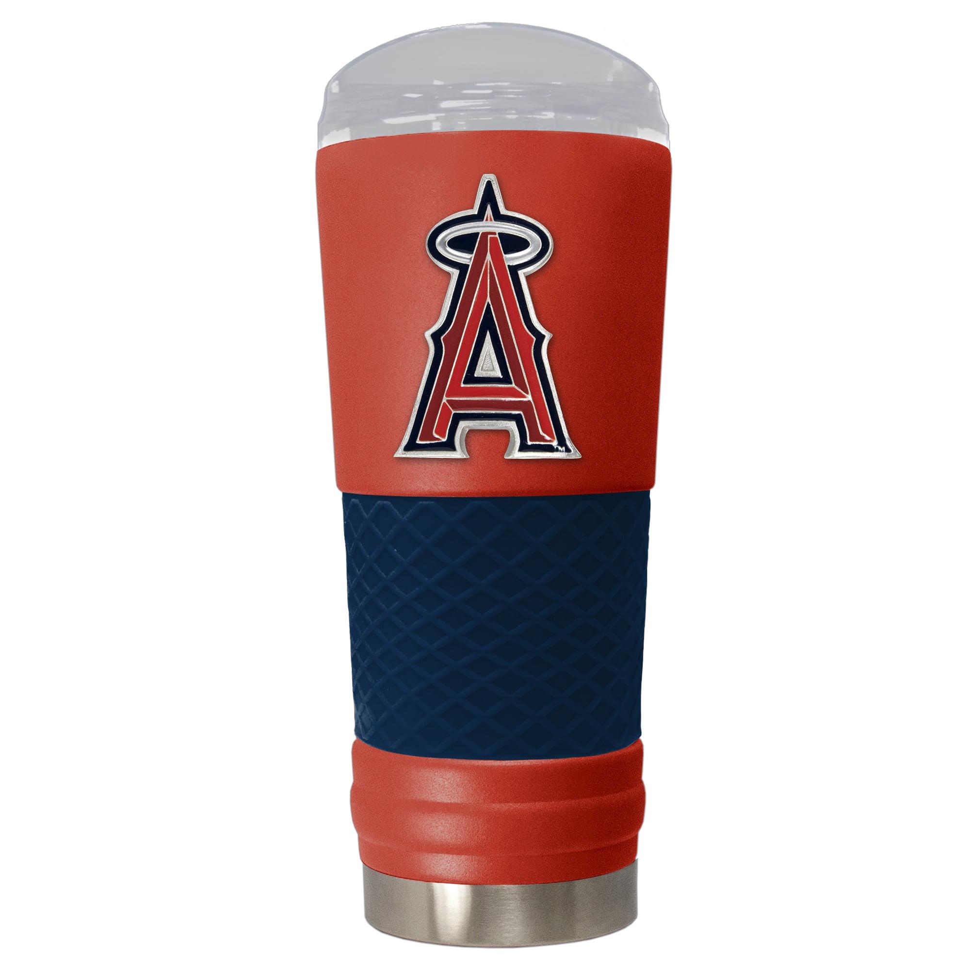 Los Angeles Angels 24oz. Powder Coated Draft Travel Mug - Red - No Size