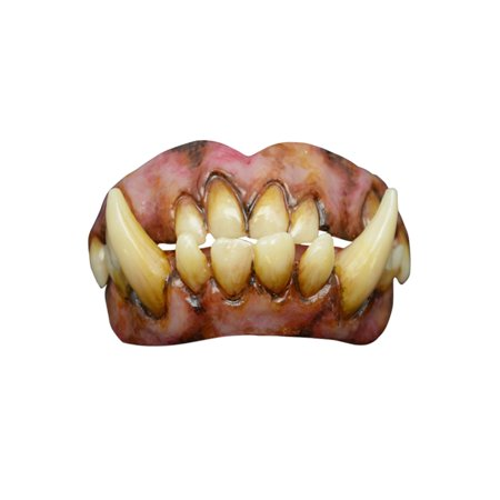 Pointy Teeth Halloween (Adult Ogre Teeth Halloween Costume)