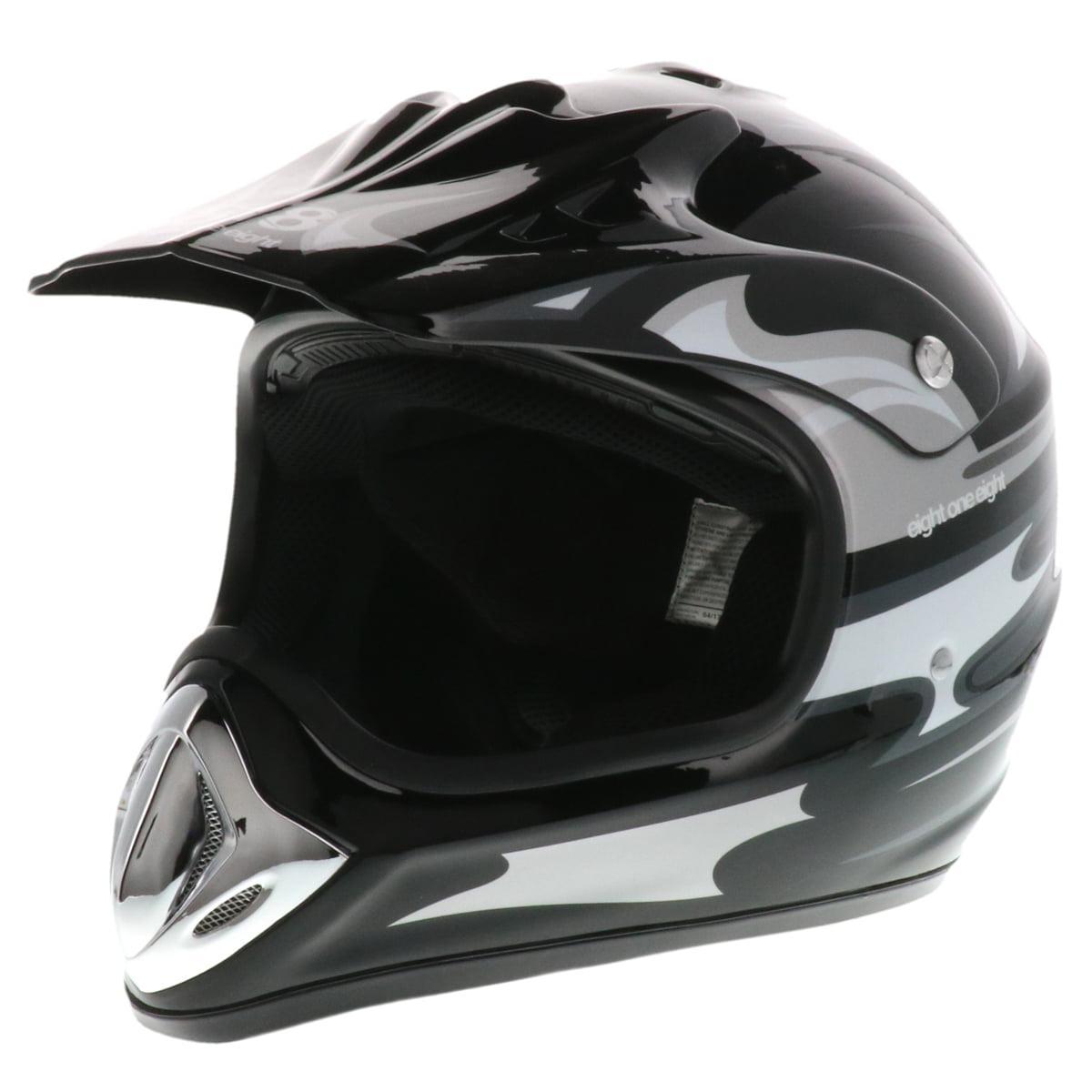 818 Adult Off-Road Helmet MX, ATV, UTV, Dirt Bike, Motocross - DOT - H-351