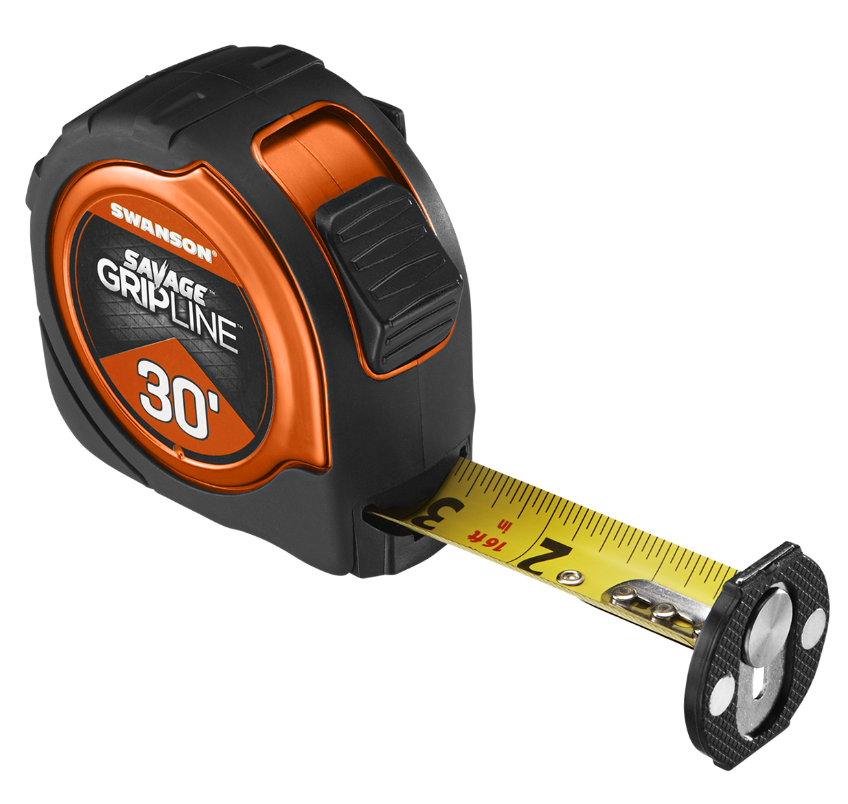 30' Magnetic Savage Grip Line Tape Measure
