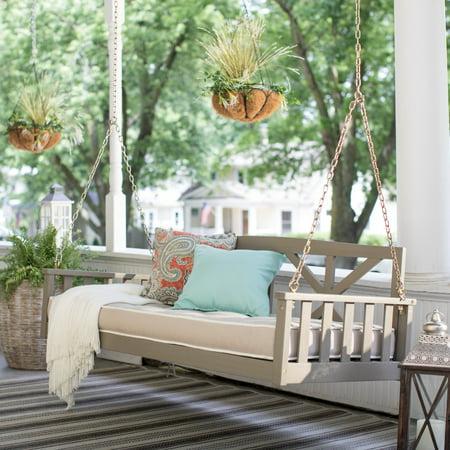 Belham Living Cottonwood Deep Seating 64 In Porch Swing
