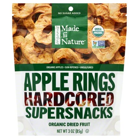 Halloween Treats Made With Apples (Made In Nature Organic Dried Apples,)